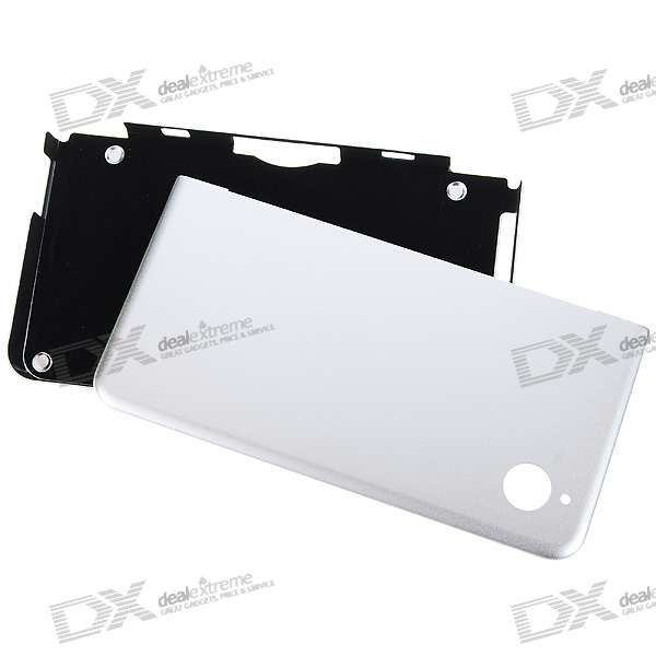 Protective Aluminum Case for DSi LL (Silver)