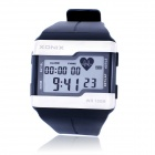 XONIX HRM1 Water Resistant Digital Relógio de Pulso / Finger-Touch Heart Rate Monitor - Azul Escuro