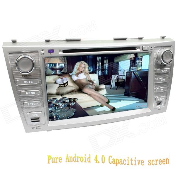 LsqSTAR 8 Android Capacitive Screen 2-Din Car DVD Player w/ GPS FM BT Wifi SWC AUX for Toyota Camry автомобильный dvd плеер lg 2 din 8 dvd gps mazda 3 android 3g wifi tv aux bluetooth