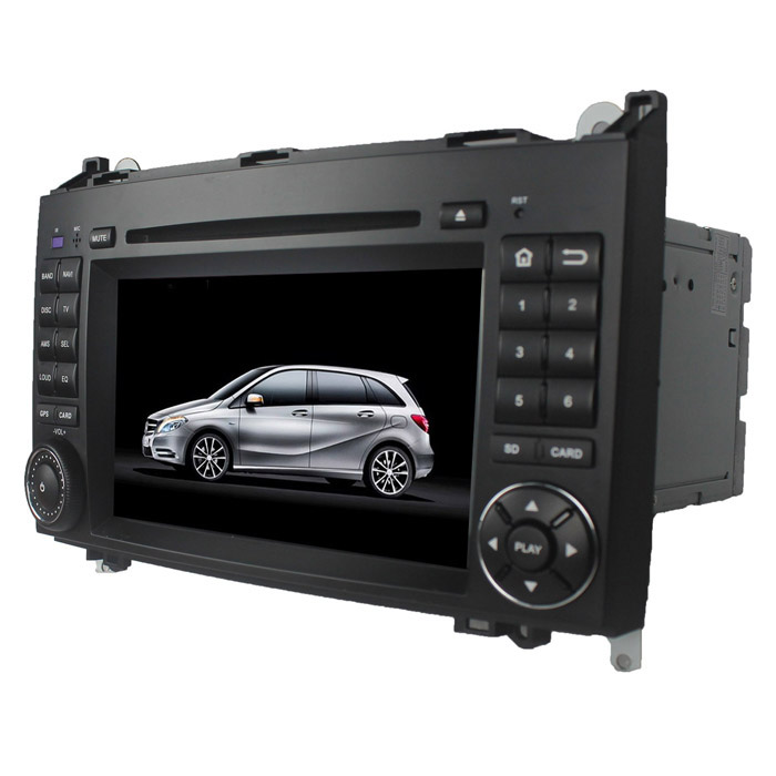 цена на LsqSTAR 7 Android Capacitive Screen Car DVD Player w/ GPS FM BT WiFi CanBus for Benz A/B/W169/W245