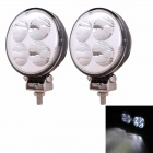 MZ 12W 900LM 30° Spot Beam LED Work Light ATV Off-road DRL Driving Lamp / Fog Light (Pair / 10~30V)