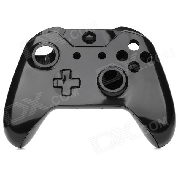 Replacement Full Housing Case + Buttons for XBOX ONE Wireless Controller - Black mouseking sw 0004 abs replacement full housing case buttons for xbox360 wireless controller