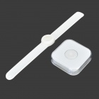 Flere Fin Smart Bluetooth Body Energi Sensor for Helse Tracking - Svart + Hvit