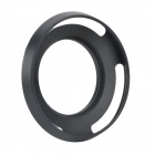 EOSCN Aluminum Alloy 40.5mm Lens Hood for E16-50 NEX-5R5T3N6A5000A6000 - Black
