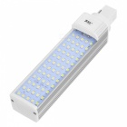 JRLED G24 12W 1000lm 7000K 60-2835 SMD LED Cool White Light Lamp Bulb - White + Silver (AC 85~265V)