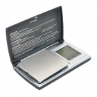 Portable Digital Scale - Zwart (2 x AAA / 0.1g / 1000g)