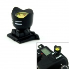 Universal Cartoon Spirit Level Hot Shoe Cover for Camera - Black + Tansparent