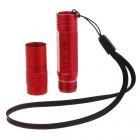 Brinyte PD03A HA-III 5-Mode 150-Lumen Memory LED Flashlight - Red (1*AAA/1*10440)