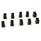 SMD 2-3Pin Female Connector Plugs - Black (10 PCS)