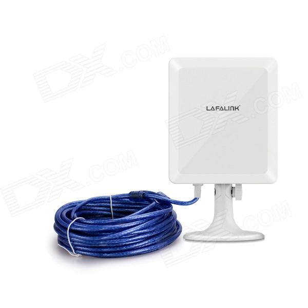 LAFALINK LF-D511 150Mbps Outdoor Wireless Network Card - White (10cm USB Cable)
