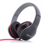 Ditmo 3.5mm Foldable Stereo Headphone for MP3 Player / Mobile Phones / Other Devices - Black