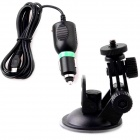 Sports Camera Vehicle Stand + Charging Cable for SJ4000 / SJ1000 - Black