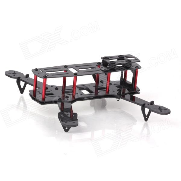ZnDiy-BRY ZMR250 250mm Carbon Fiber 4 Axis Mini Quadcopter Frame Kit - Black carbon fiber zmr250 c250 quadcopter