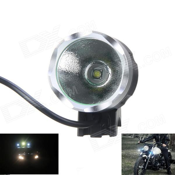 KINFIRE KH-30 LED 650lm 3-Mode Cool White Bicycle Light - Grey + Silver