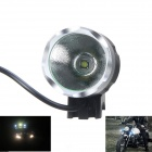 KINFIRE KH-30 CREE XM-L T6 650lm 3-Mode Cool White Bicycle Light - Grey + Silver