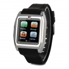 "TW530 Bluetooth V3.0 Partner MTK6223 GSM Watch Phone w/ 1.54"" Resistive Screen - Black + Silver"