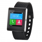 "DIWEINUO D6 Bluetooth V3.0 MTK6260A GSM Smart Watch Phone w/ 1.54"" MiPi HD Screen - Black"