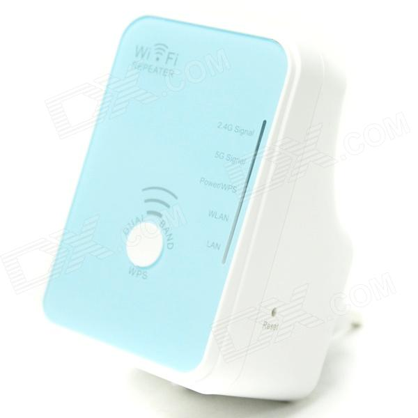 WN568N 2.4/5GHz 802.11a/b/g/n 300Mbps Wireless Dual-Band Wi-Fi AP Repeater w/ WPS Function