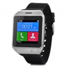 "DIWEINUO D5 Bluetooth V3.0 MTK6260A GSM Smart Watch Phone w/ 1.54"" MiPi HD Screen - Black + Silver"