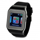 "V9 GSM & Bluetooth Wrist Watch Phone w/ 1.5"" Screen, Quad-band, FM - Black"