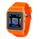 "V9 GSM & Bluetooth Wrist Watch Phone w/ 1.5"" Screen, Quad-band, FM - Orange"