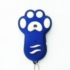 Dog Footprint Wireless Bluetooth Remote Control Self-timer for Android and IOS - Blue + White