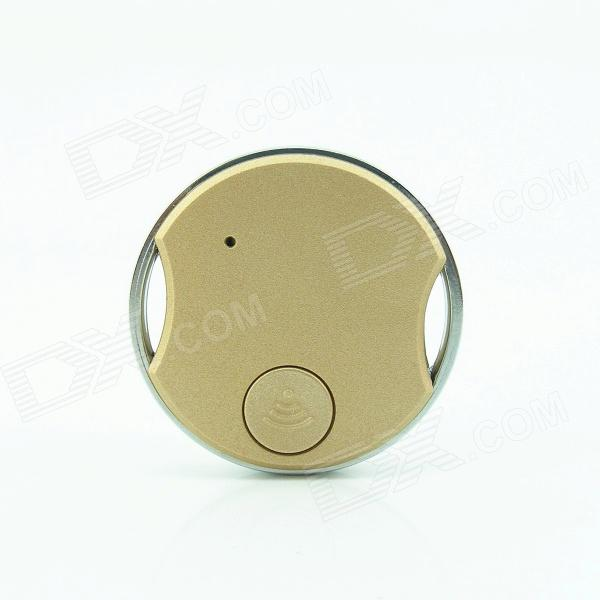 X71A Coin Bluetooth V3.0 Remote Control Self Timer Camera Shutter for iOS / Android Phone - Gold