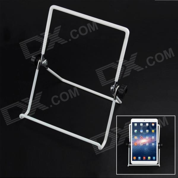 Stainless Steel Flat Fold-up Rotary Sobremesa para Tablet PC - Blanco