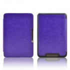 EPGATE-Protective PU Leather Flip Case Cover for Tolino Shine - Purple