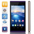 "InFocus M310 Quad-Core Android 4.2.2 WCDMA Bar Phone w/ 4.7"" HD, 4GB ROM, Wi-Fi, GPS, OTG - Purple"
