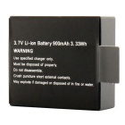 Replacement 900mAh Rechargeable Li-ion Battery for SJ4000 Sports Camera - Black