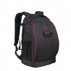 Professional Anti-theft Nylon Backpack Bag for Canon / Nikon DSLR - Black