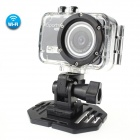 CAM F39 Wi-Fi Control 120° 5.0 MP 2/3 CMOS 1080P Full HD Sports Camera w/ Micro HDMI - Black