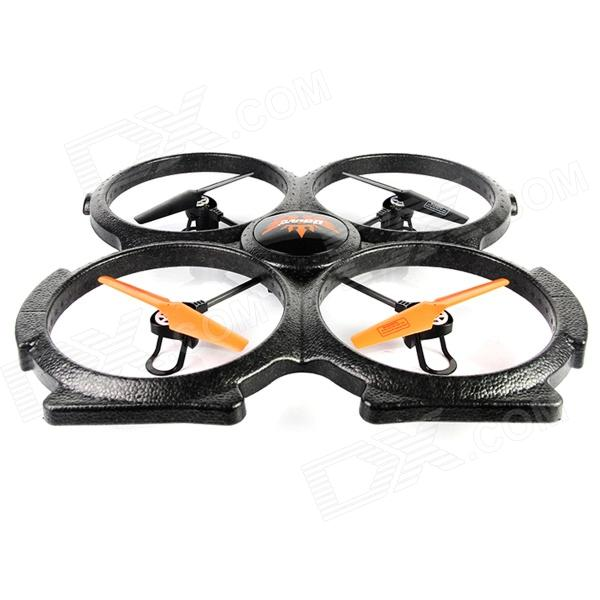 Udi U829X 2.4GHz 4-CH UFO Bubble Quadcopter w/ Gyro / Remote Control Stunt - Black