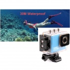 New 5.0MP Full HD 1080P Waterproof 50M Sport Camera DVR Camcorder w/ Wi-Fi H264 HDMI + IR Remote