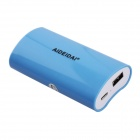 "AIDEIDAI P5023 ""5600mAh"" USB 18650 Battery Mobile Power Bank - Blue"