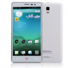 "Blackview JK890 MTK6572 Dual-Core Android 4.2.2 WCDMA Bar Phone w/ 5.5"" IPS, Wi-Fi and GPS - White"