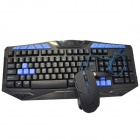 R.horse RH8680 Multimedia Gaming Keyboards - Black + Blue