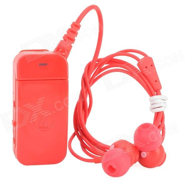 Audio-technica ATH-BT09 Bluetooth V2.1 Clip-on In-Ear Headset w/ Microphone - Red technica audio technica ath ar5bt портативная гарнитура bluetooth гарнитура беспроводная серебро