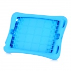 Protective Silicone Case w/ Stand for IPAD Mini - Blue