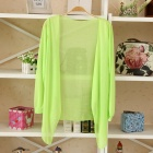 Women's Fashionable Casual Air Condition Top - Fluorescent Yellow