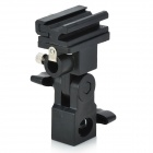 Universal Plastic Swivel Flash Bracket - Black
