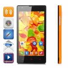 "HTM M1W Dual-core Android 4.2.2 WCDMA Bar Phone w/ 4.7"" IPS, Wi-Fi and GPS - Orange + Black"