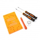 YDL-8122-1 Repairing Screwdriver Tool Set for IPHONE 4 / 4S / 5- Orange + Black