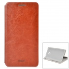 MOFI PR1005 Protective PU + ABS Case w/ Stand for MEIZU MX3 - Brown