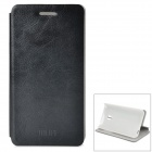 MOFI PR2008 Protective PU + ABS Case w/ Stand for MEIZU MX2 - Black + White
