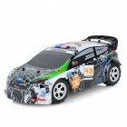 WLtoys A989 2.4GHz 5-CH 1:24 Electric Speed Car Toy - White + Black + Multicolored