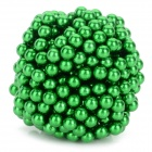 DIY 5mm NdFeB Magnetic Balls Educational Toy - Green (432 PCS)