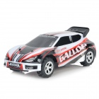 WLtoys A989 2.4GHz 5-CH 1:24 Electric Speed Car Toy - White + Red + Black