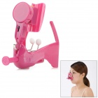 0.5W Vibrating Nose Electric Massager - Purplish Red (1 x CR2032)